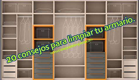 limpiar armarios de madera 20 consejos para limpiar los armarios de la habitaci 211 n