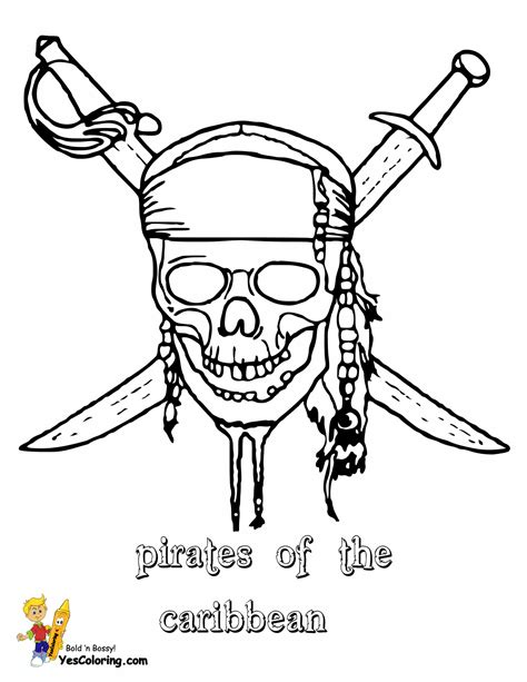 pirates caribbean coloring pages pirates of the
