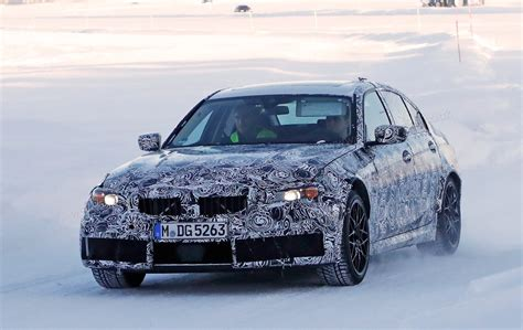 Bmw Prototype 2020 by New 2020 Bmw M3 G80 Prototype Spied Testing At The