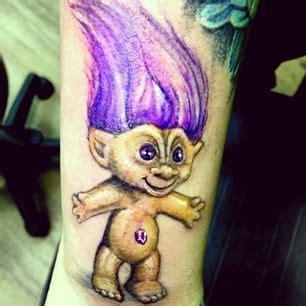 stylin tattoo a troll doll just casually stylin n profilin