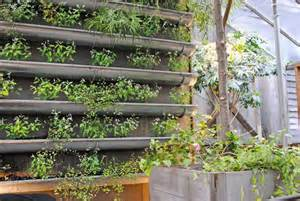 Gutter Vertical Garden Think Green 20 Vertical Garden Ideas