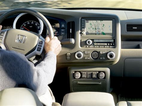 2008 honda ridgeline interior features