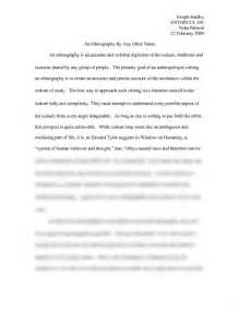 Cultural Anthropology Essay by Physical Anthropology Term Papers