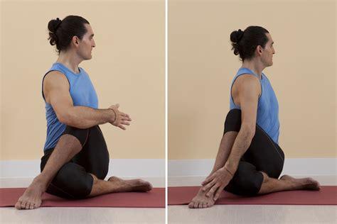 libro bks iyengar yoga the asana marichyasana yoga en red