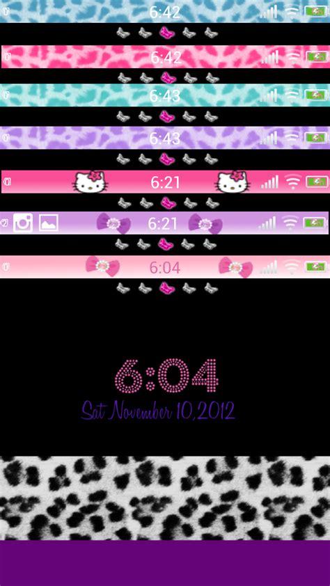 themes status bar iphone status bar wallpaper wallpapersafari