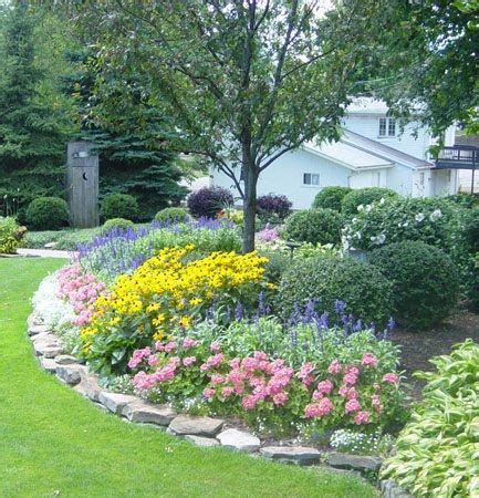 Rock Borders For Gardens Beautiful Garden The Rock Border Garden Ideas Gardens Beautiful And Flower