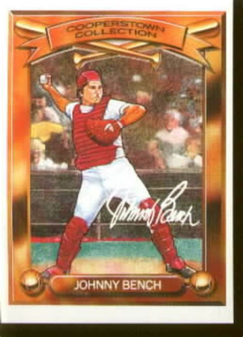 johnny bench cards johnny bench cards