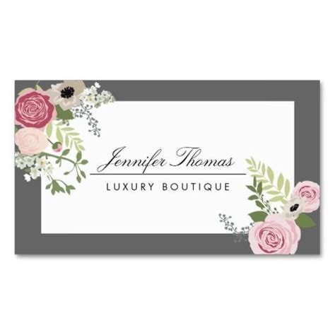 floral design business card template 314 best floral design business cards images on