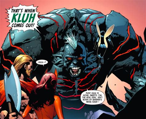 Kaos Spawn image robert bruce banner earth 616 from x