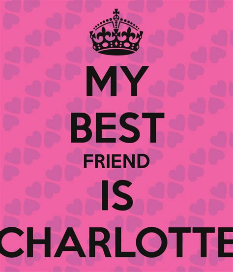 my best friend my best friend is poster charlene keep calm