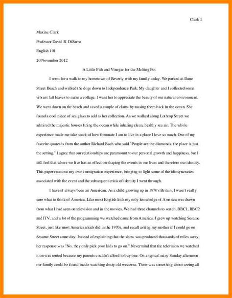 Story Essays For School by 5 Personal Narrative College Essay Exles Address Exle