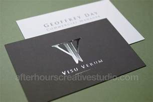 foil business cards luxury business cards foil sted velvet laminated