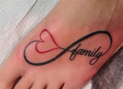 family infinity tattoos relationship with family it s an infinity symbol