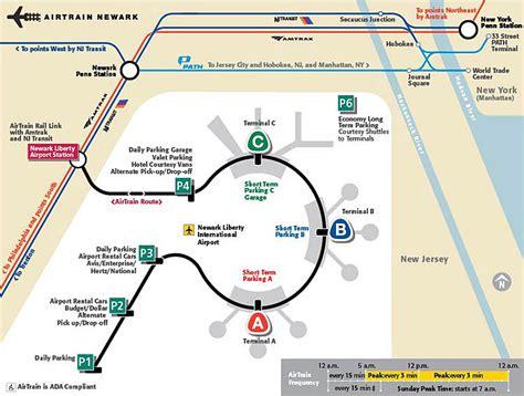 ewr airport map newark airport map