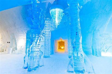 hotel de glace canada canada ice hotel fubiz media