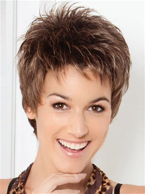 itip extensions in pixie pixie cut spiky style synthetic wig short wigs p4