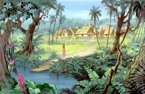 layout and background artist deja view jungle book layout background