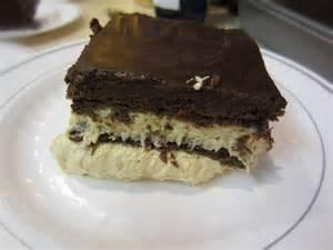 my patchwork quilt chocolate peanut butter dessert