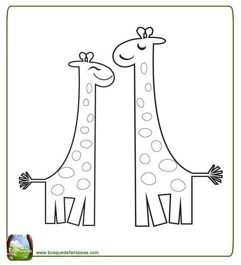 imagenes de jirafas para pintar 99 dibujos de jirafas 174 tiernas y lindas jirafas para colorear