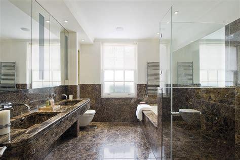 25 banheiros com m 225 rmore para voc 234 se inspirar limaonagua