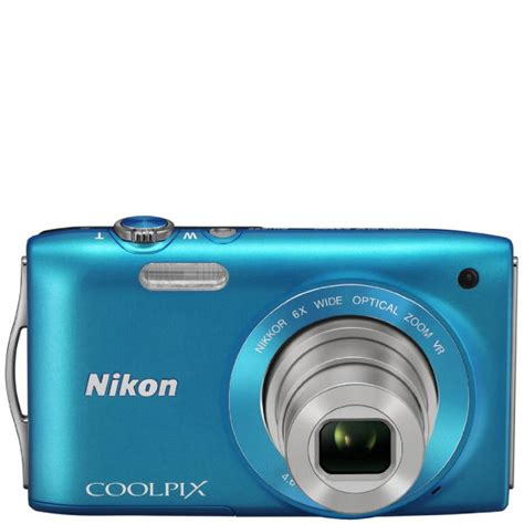 Lensa Nikon Coolpix S3300 nikon coolpix s3300 compact digital 16mp 6x optical 2 7 inch lcd blue electronics
