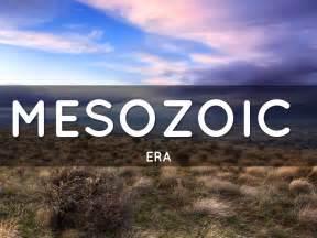 mesozoic era mesozoic era by chadfuller