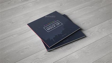 Square Catalog / Magazine Mock Up by webandcat GraphicRiver