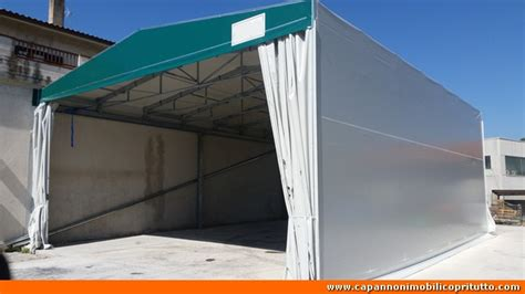 capannoni retrattili usati foto capannoni mobili in telo pvc