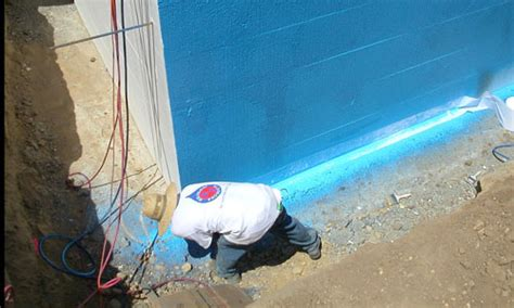 below grade waterproofing masonry and basement waterproofing