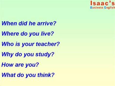 preguntas interrogativas con donde como preguntar en ingl 233 s con interrogarivos youtube