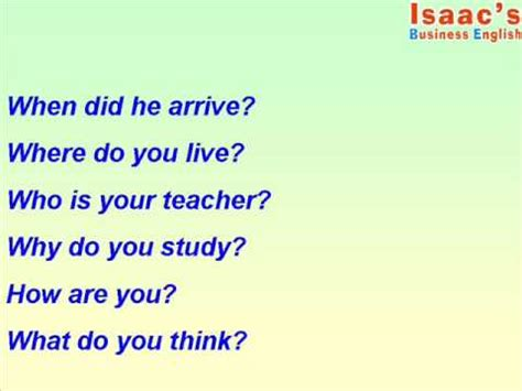 preguntas en ingles how are you como preguntar en ingl 233 s con interrogarivos youtube