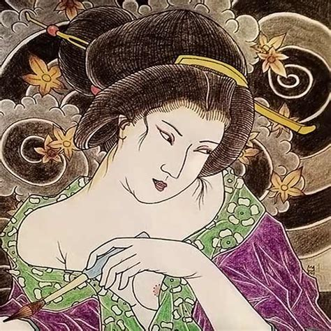 geisha tattoo designs and their history full tattoo