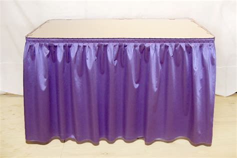 table skirt rental for burlington bellingham everett