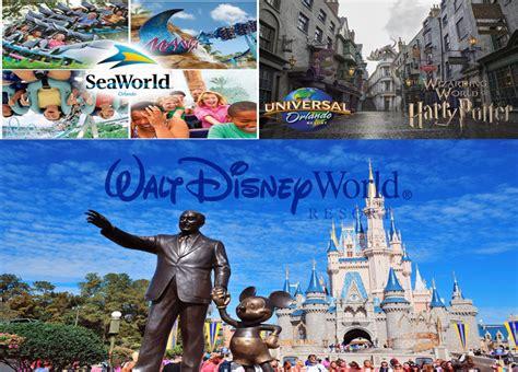 theme park list orlando orlando theme parks seaworld walt disney world