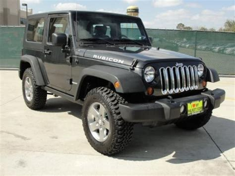 2010 Jeep Wrangler Specs 2010 Jeep Wrangler Rubicon 4x4 Data Info And Specs