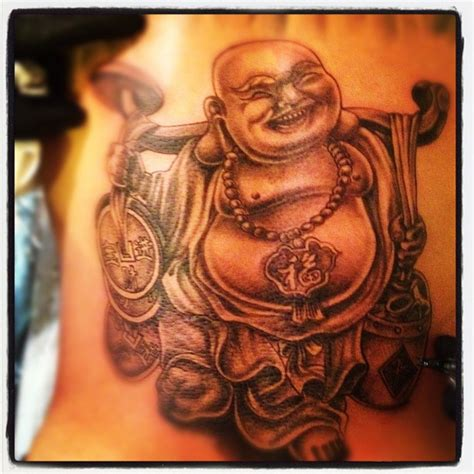 laughing buddha tattoo happy buddha wish this is what i would got