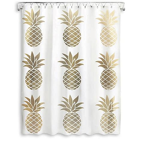 120 inch shower curtain pineapple 72 inch x 70 inch shower curtain bed bath beyond