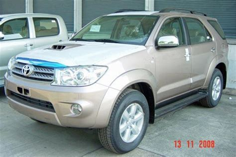 Toyota X 2005 Review Toyota Fortuner 2005 Car Review Honest