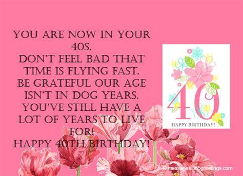 Happy 40th Birthday Wishes Happy 40th Birthday Wishes Www Imgkid Com The Image