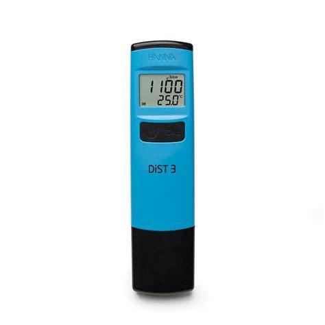 Primo5 Ec Low Range Tester dist 3 waterproof ec tester 0 2000 181 s cm hi98303 hannainstruments