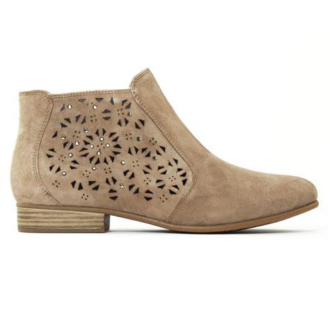 tamaris 25317 pepper low boots beige clair printemps 233 t 233 chez trois par 3