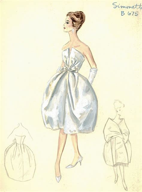 retro drawing vintage dress sketches designs www pixshark com images