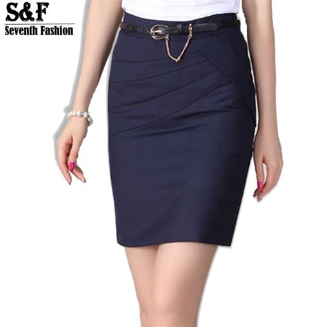 2016 autumn winter skirts office formal pencil