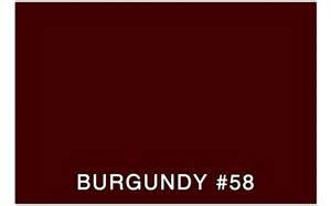 color sample 3m burgundy 58 brg