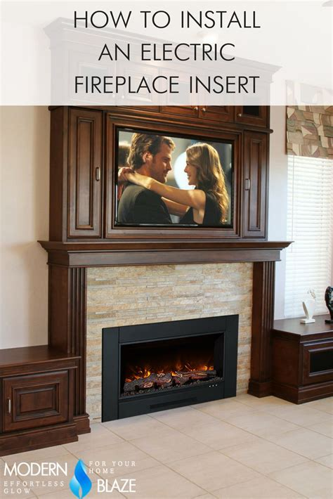 install electric fireplace best 25 ventless fireplace insert ideas on