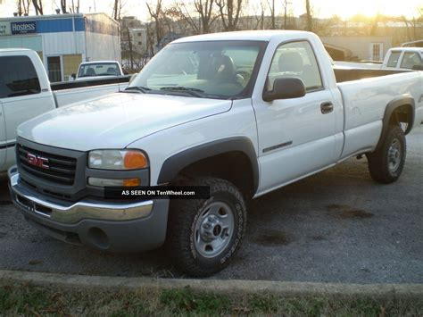 2003 ford truck f150 1 2 ton p u 2wd 4 2l fi ohv 6cyl 2003 gmc 2500hd 3 4 ton 4x4 6 0 gas a t
