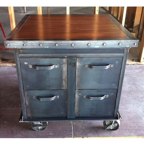 Retro Filing Cabinet Ellis Filing Cabinet Vintage Industrial Furniture