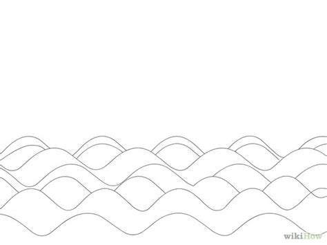 free coloring pages of waves