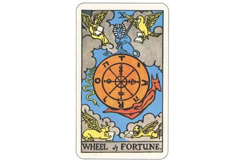 Tarot 10 Wheel Of Fortune 187 vận xa v 224 c 244 ng l 253 một vui một lo