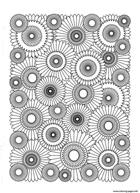 coloring pages for adults that you can print sunflower coloring pages printable